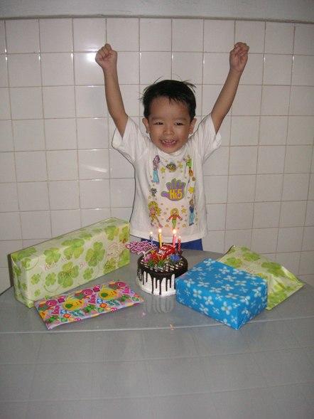 Happy 4th Birthday to KeatKeat