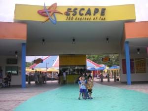 My Singapore Travel: Escape Theme Park- Escape is Adventure